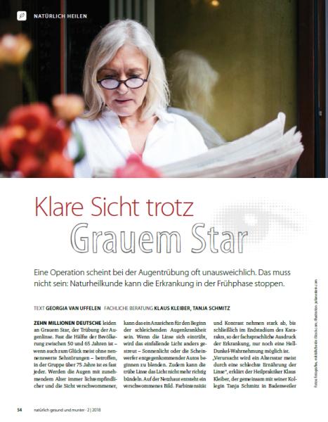 Grauer Star natürlich heilen - pdf-Download