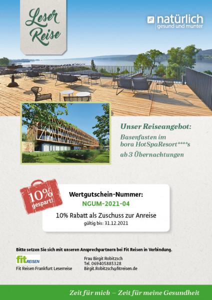 Basenfasten am Bodensee – Wertgutschein