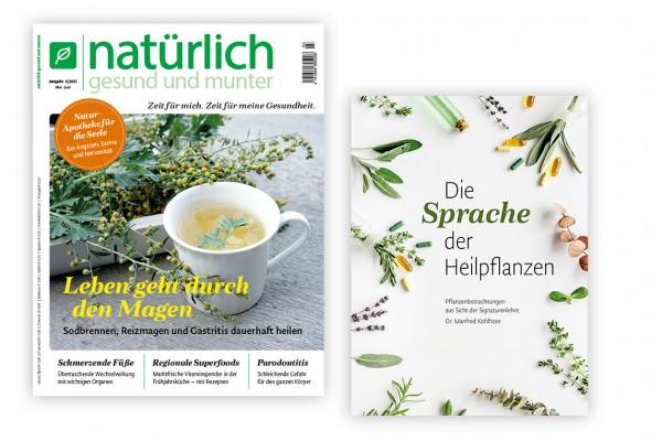 """Geschenkabo mit der Broschüre """"Die Sprache der Heilpflanzen"""