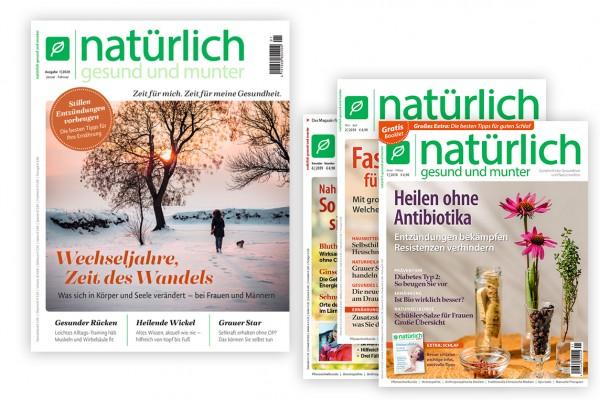 Geschenkabo mit 3 Extra-Heften