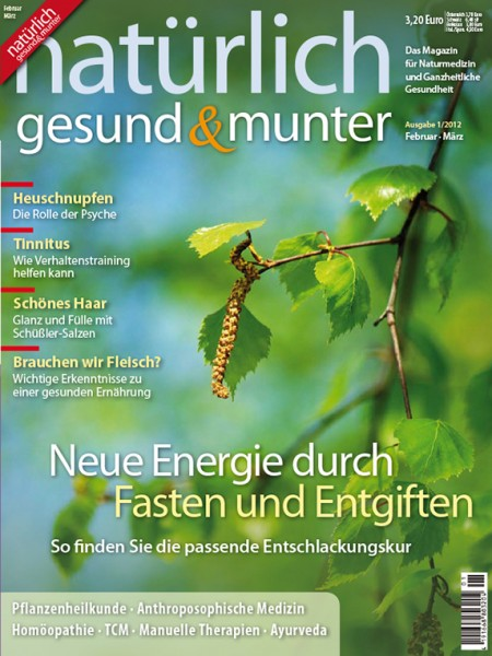 Neue Energie durch Fasten und Entgiften