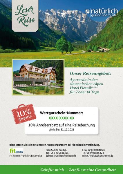 Ayurveda in Slowenien - Reisegutschein